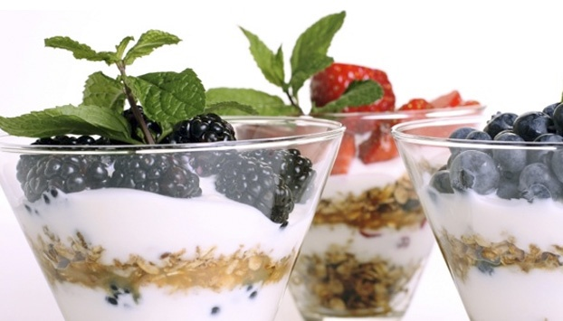 Organic yogurt is packed with calcium!