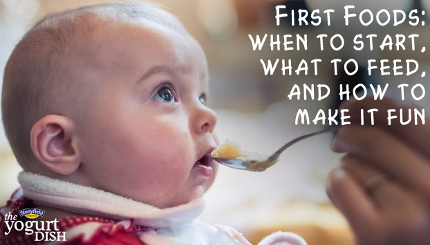 First Foods: When to Start, What to Feed, and How to Make It Fun