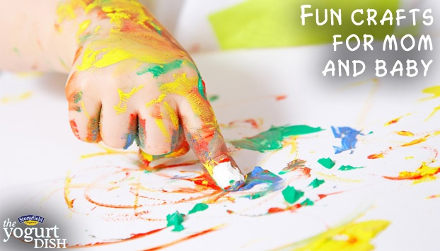 These crafts are not only fun for your child- they're fun for you too!
