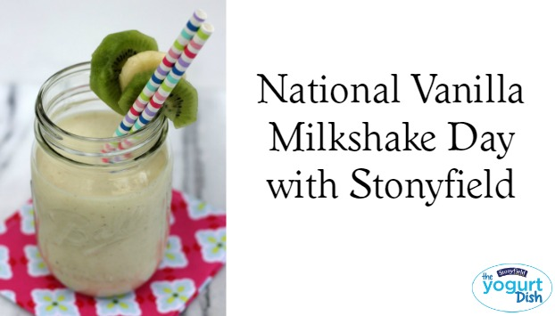 How are you celebrating vanilla milkshake day?