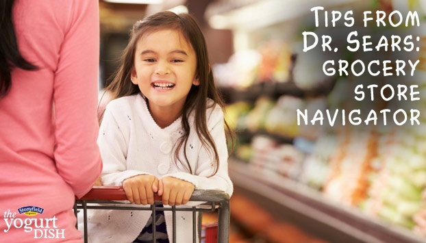 Here's some tips for navigating through the grocery store