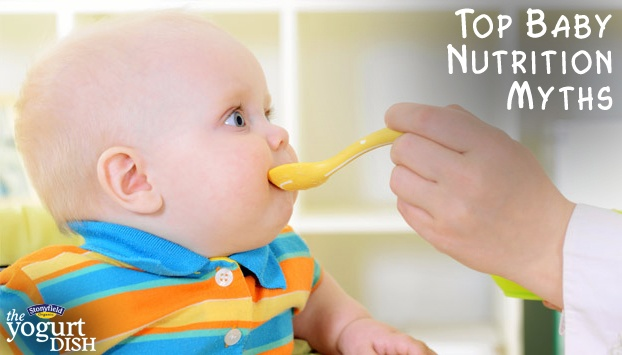 Stonyfield debunks these baby nutrition myths