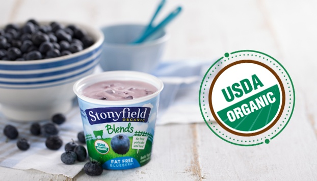 Stonyfield guarantees our yogurt is organic