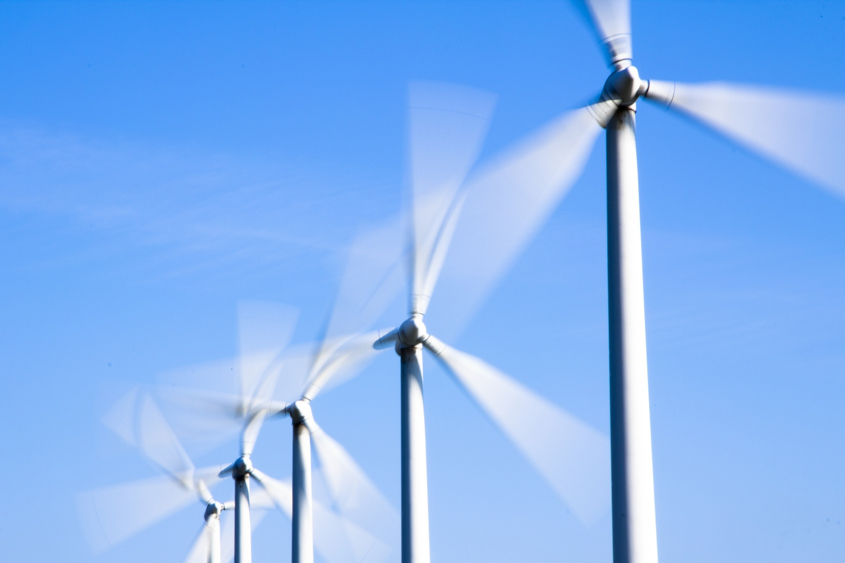 Windmills provide clean, eco-friendly energy to the world.