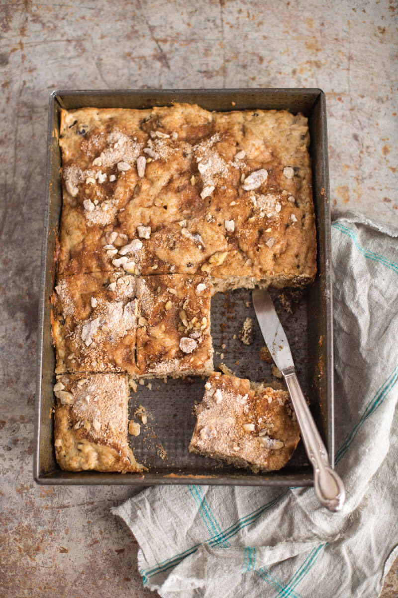 Apple and Yogurt Coffee Cake | Stonyfield