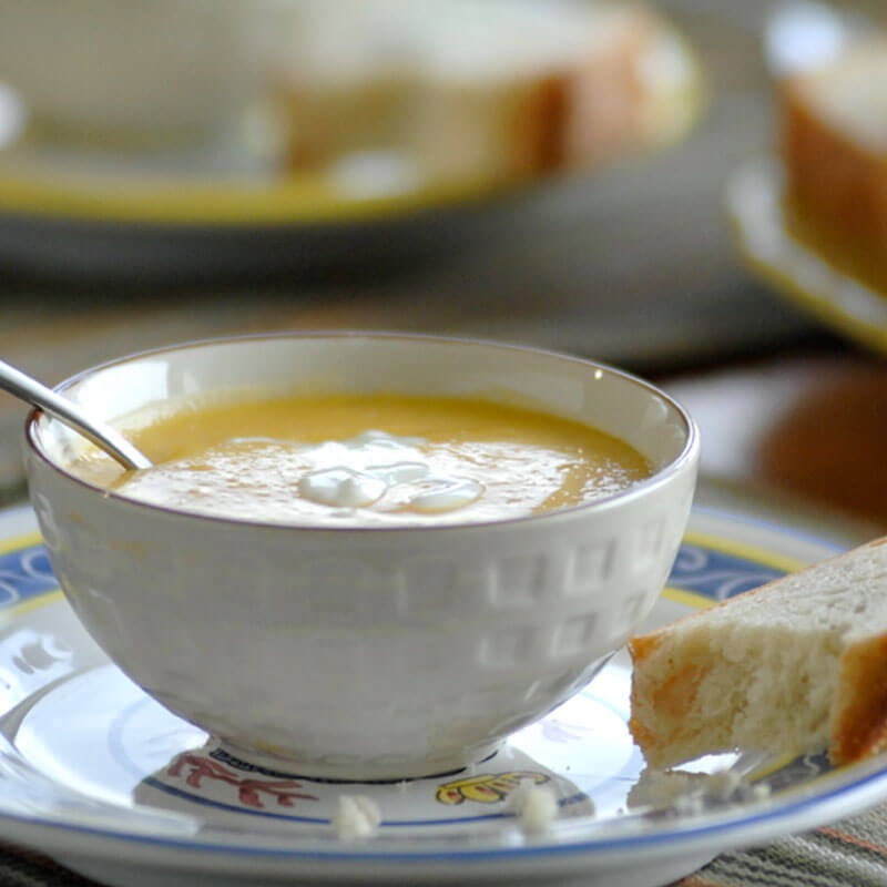 Apple Butternut Squash Soup | Stonyfield