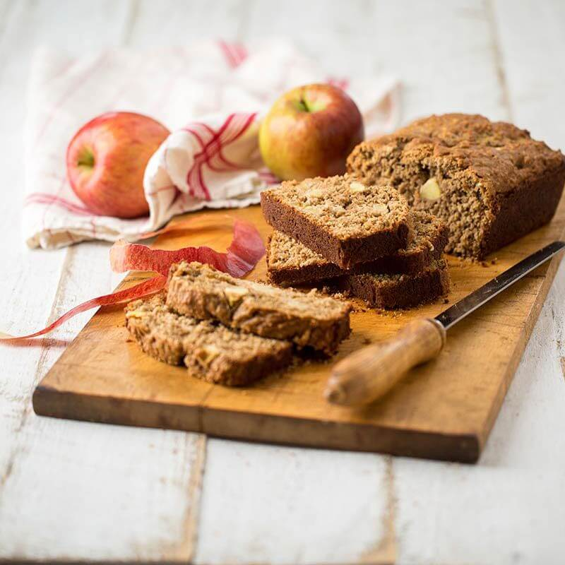 Apple Oatmeal Quick Bread | Stonyfield
