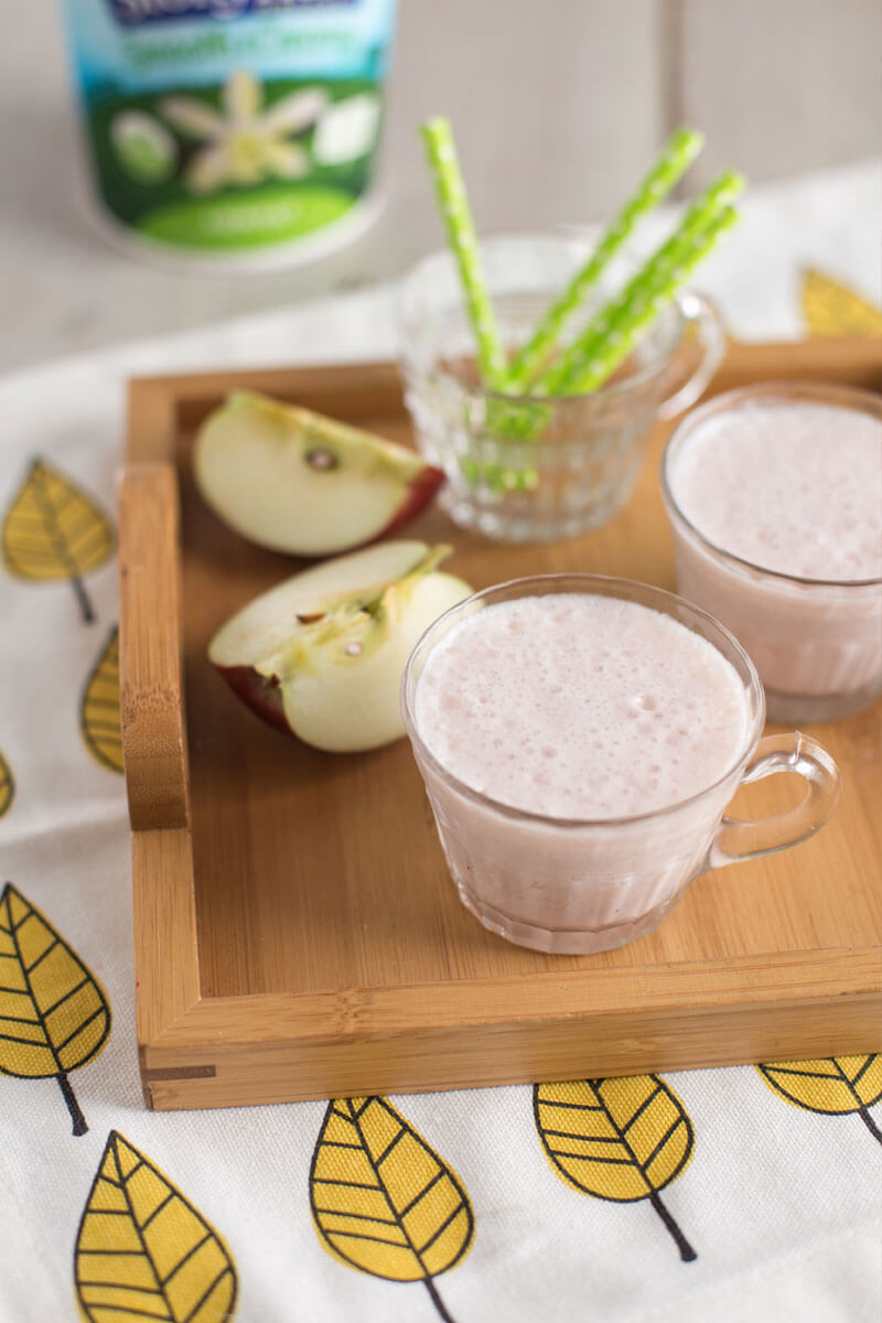 AppleBerry Smoothie | Stonyfield