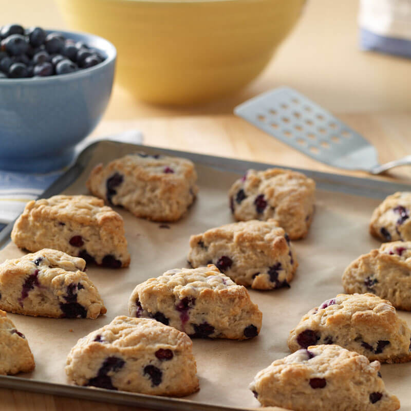 Blueberry Ginger Scones | Stonyfield