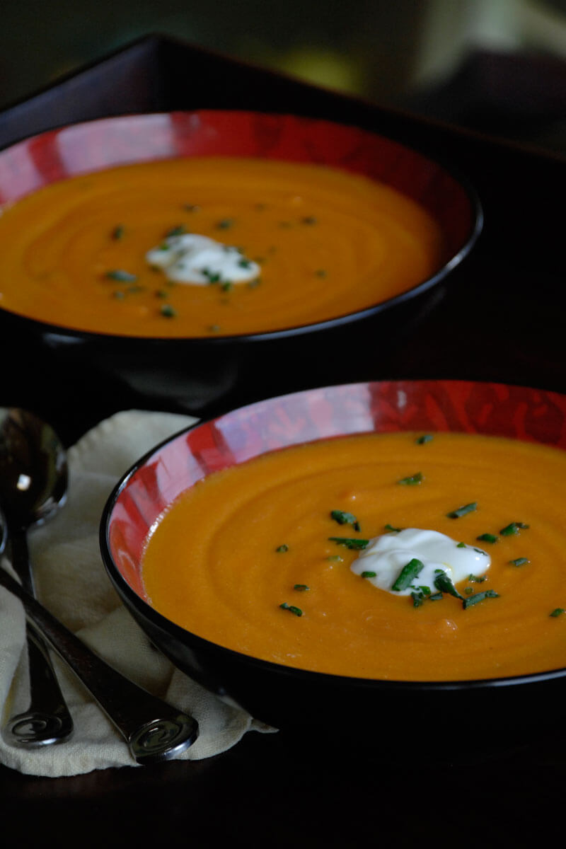 Carrot Ginger Soup | Stonyfield