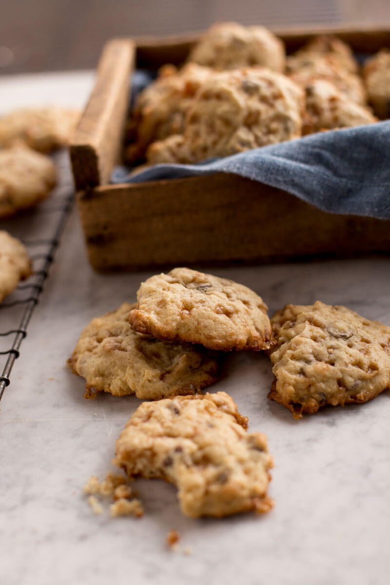 Chocolate Chip Toffee Cookies | Stonyfield