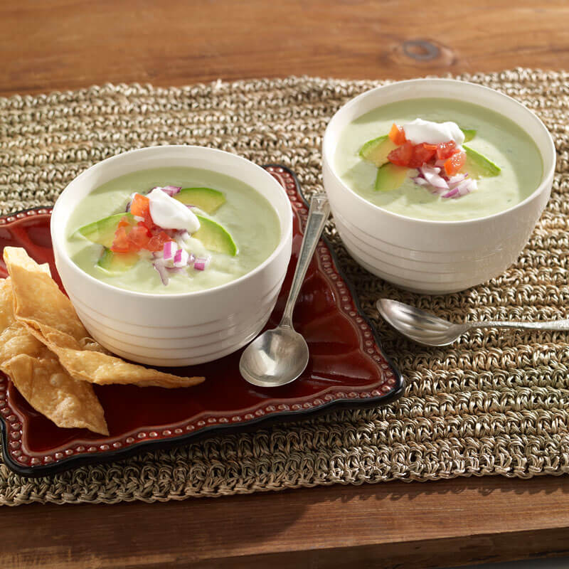 Cold Avocado Soup | Stonyfield