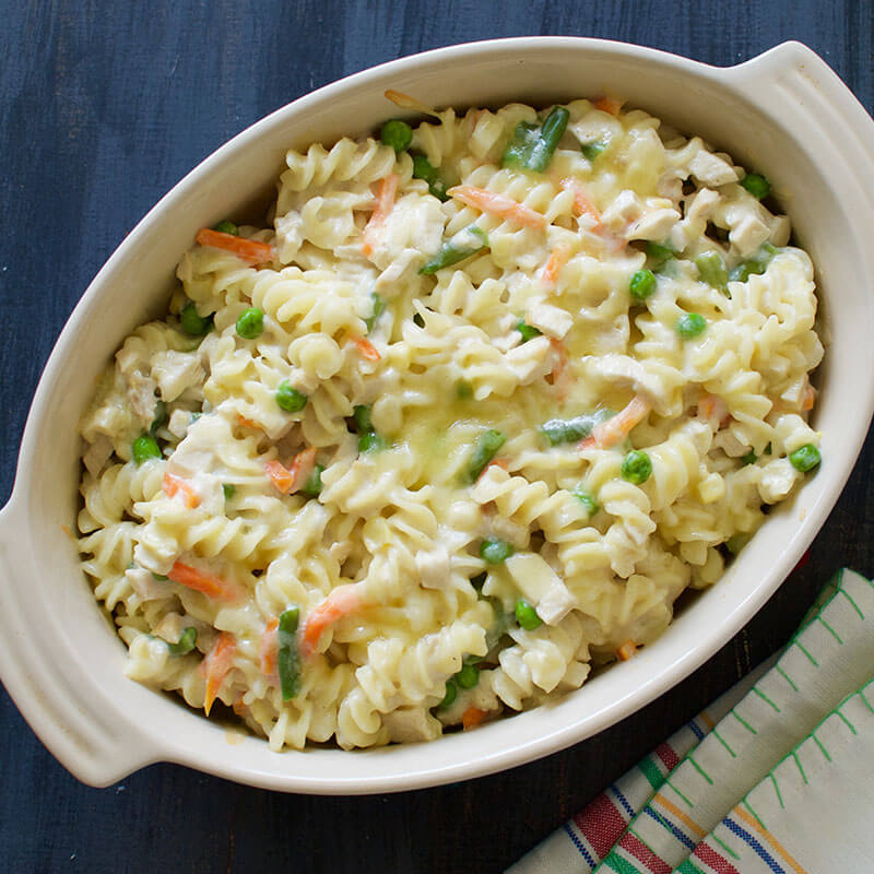 Creamy Chicken Baked Pasta | Stonyfield Recipes