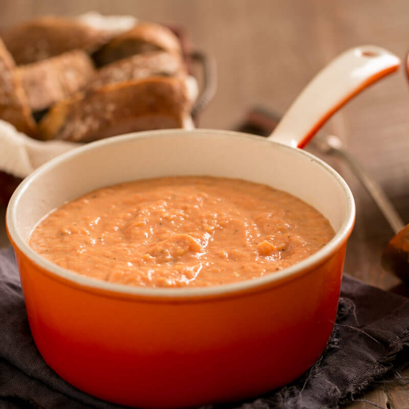 Creamy Roasted Tomato Soup | Stonyfiled