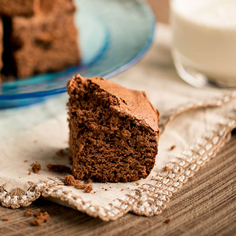 Fudgy Espresso Brownies | Stonyfield