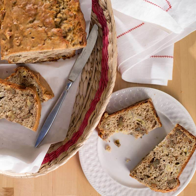 Greek Yogurt Banana Bread | Stonyfield