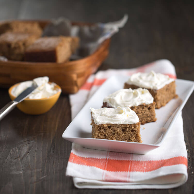 Maple Spice Cake | Stonyfield