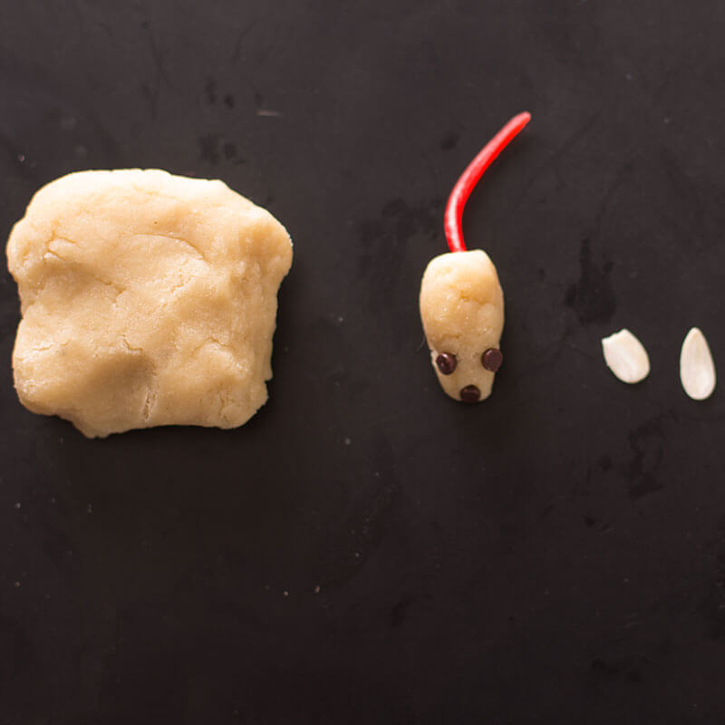 Marzipan Holiday Mice | Stonyfield Recipes