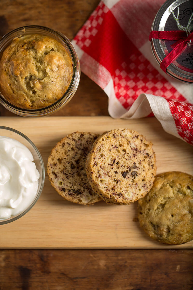 Mini Mason Jar Banana Bread | Stonyfield