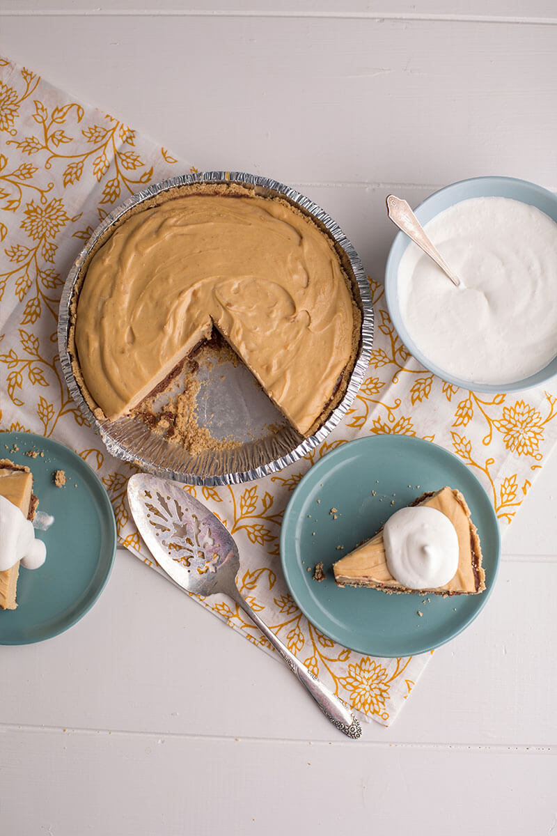 Peanut Butter Chocolate Pie | Stonyfield Recipes