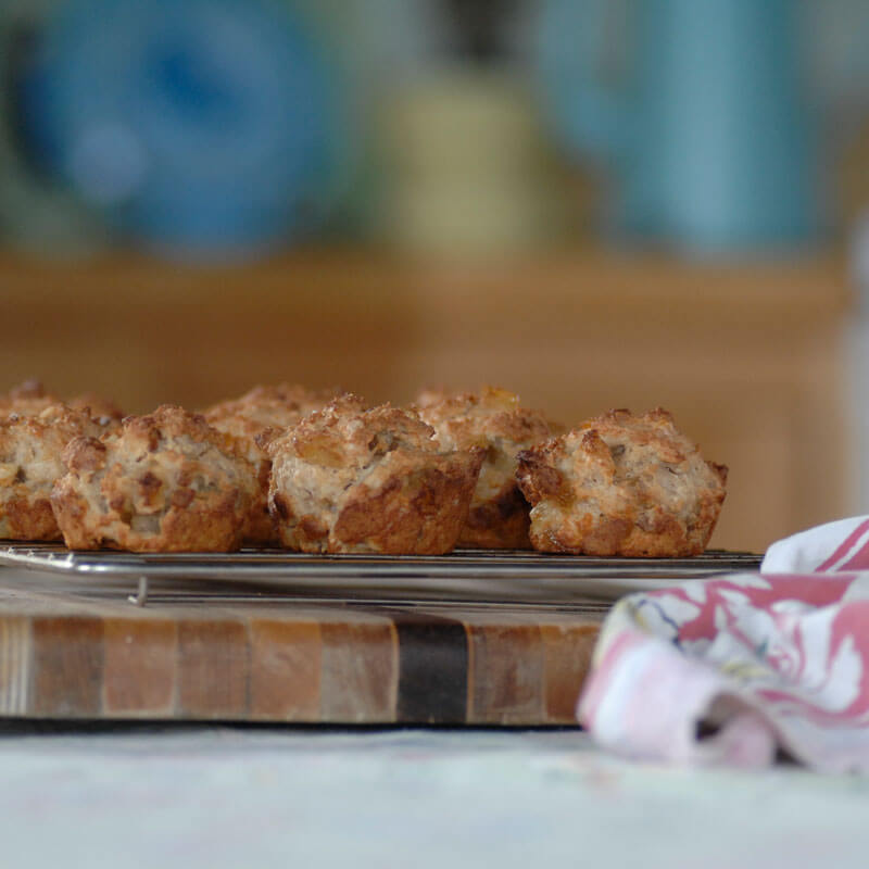 Pineapple and Macadamia Nut Muffins | Stonyfield