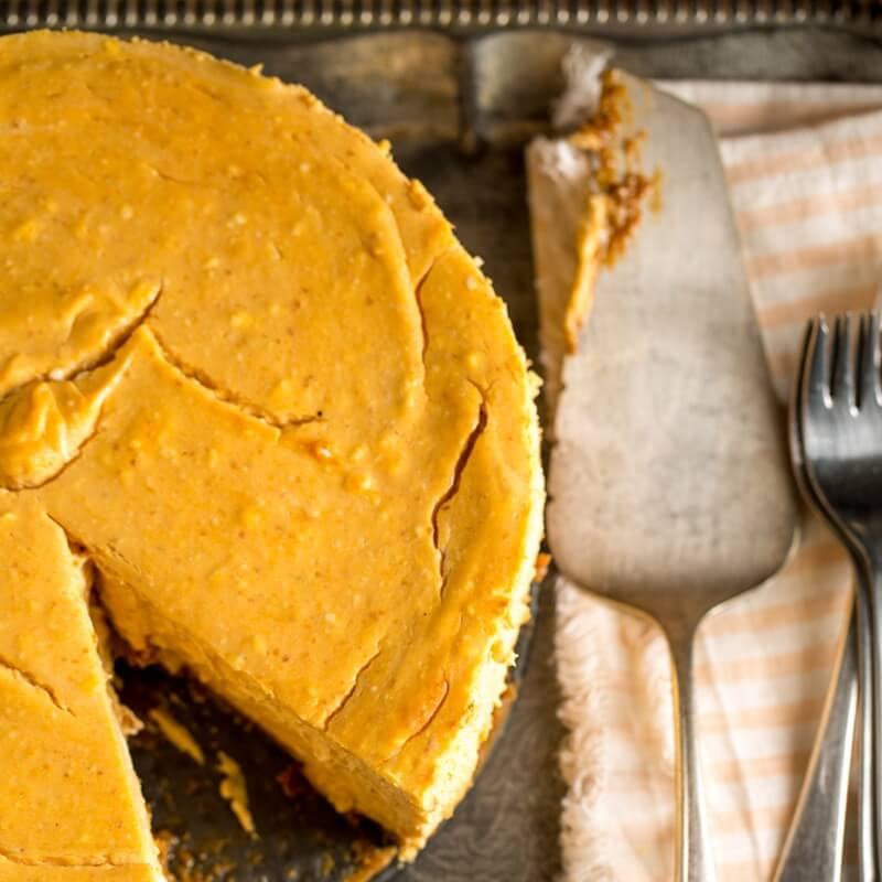 Pumpkin Cheesecake | Stonyfield