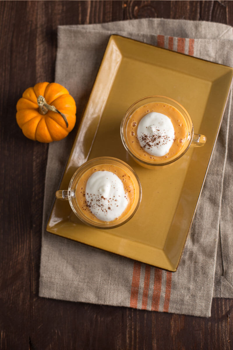 Pumpkin Pie Smoothie | Stonyfield