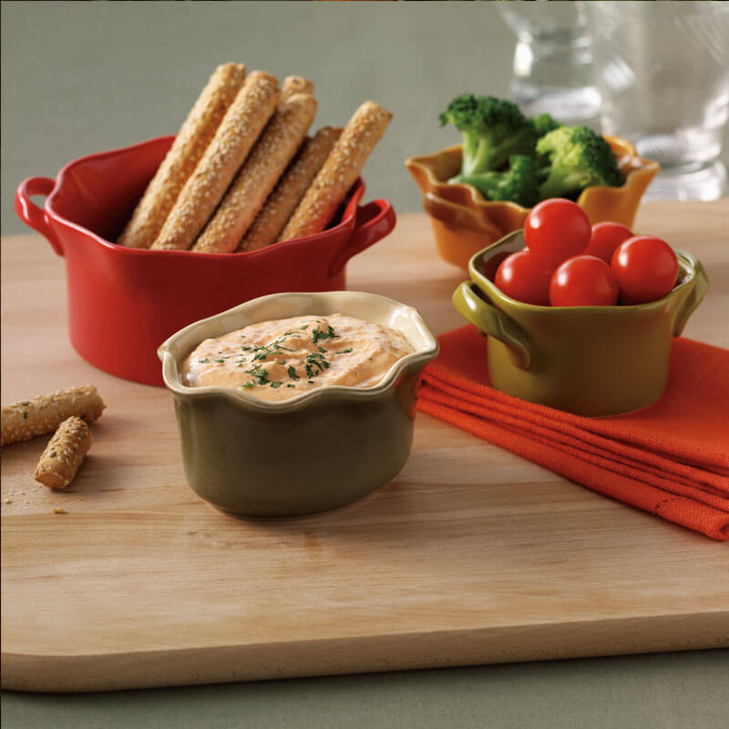 Roasted Red Pepper Dip | Stonyfield