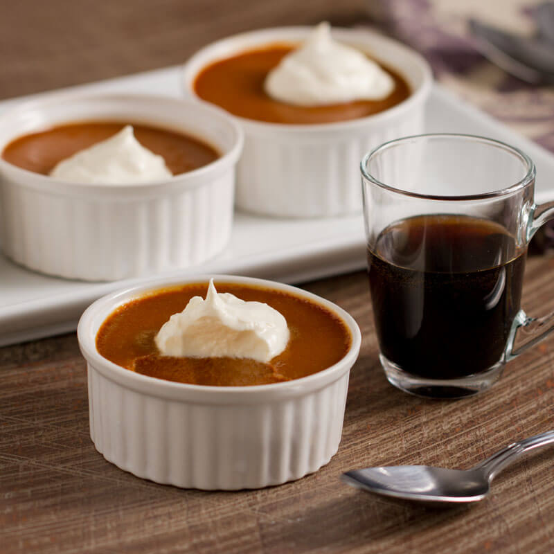 Salted Caramel Pudding | Stonyfield