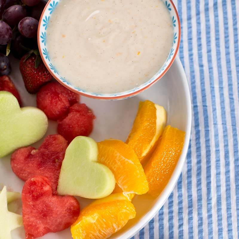 Spiced Yogurt and Honey Dip | Stonyfield