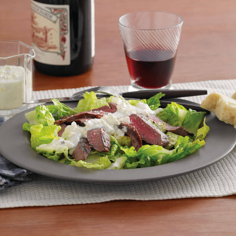Blue cheese dressing for steak salad