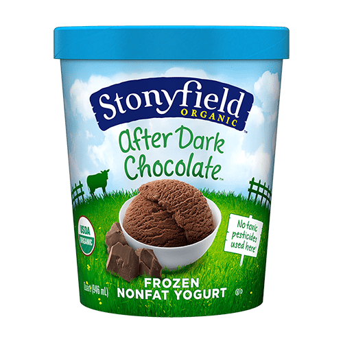Frozen Yogurt After Dark Chocolate
