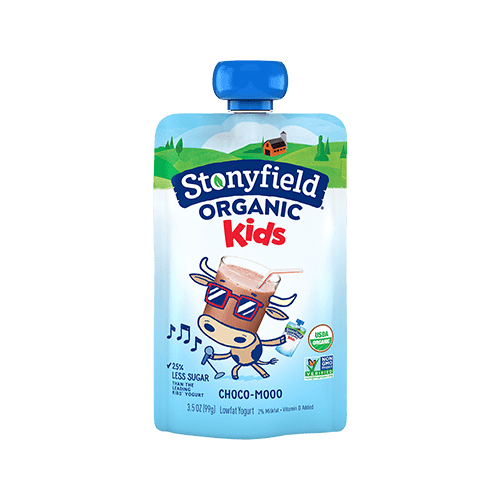Kids Low Fat Pouches Choco-Mooo
