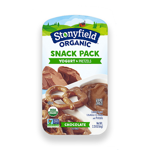 Chocolate Yogurt & Pretzels Snack Pack