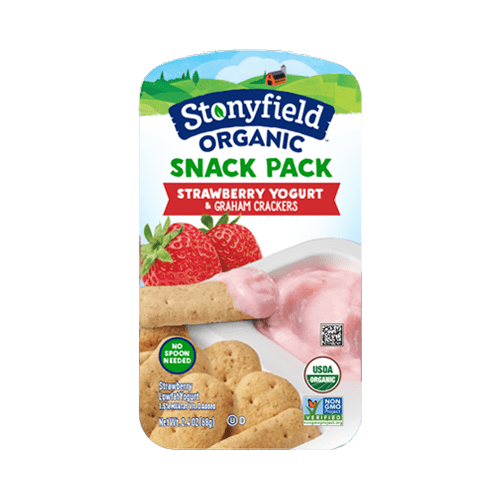 Strawberry & Graham Crackers Snack Pack